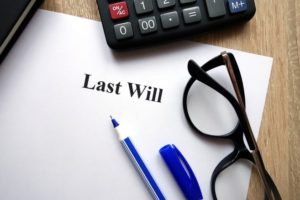 last will being administered by executor